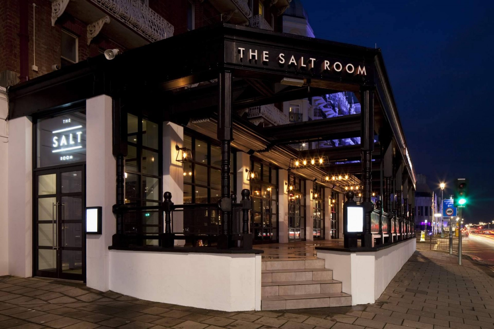 Seaview dining the salt room brighton review for The saltbox