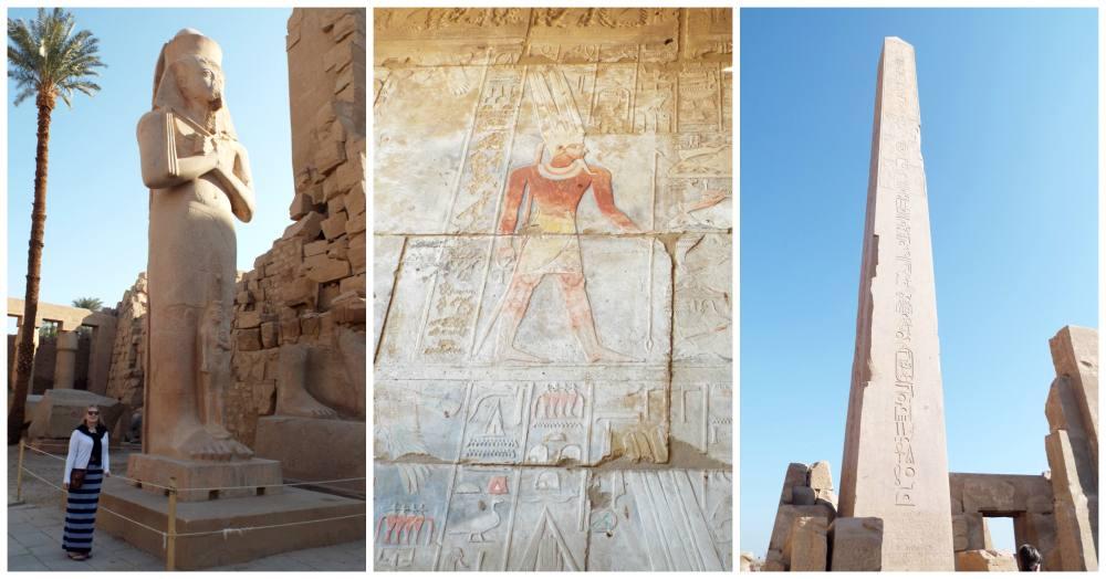 Christmas on the Nile - Part 2 - Nile Cruising and Karnak