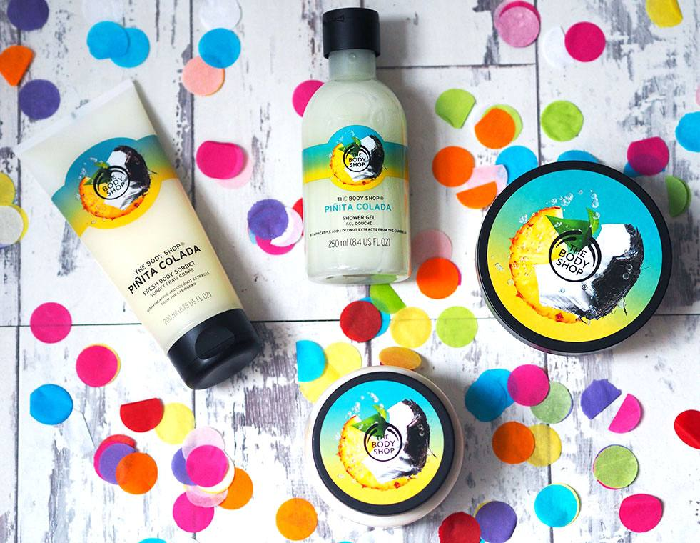 SUMMER GIVEAWAY: The Body Shop Piñita Colada Range