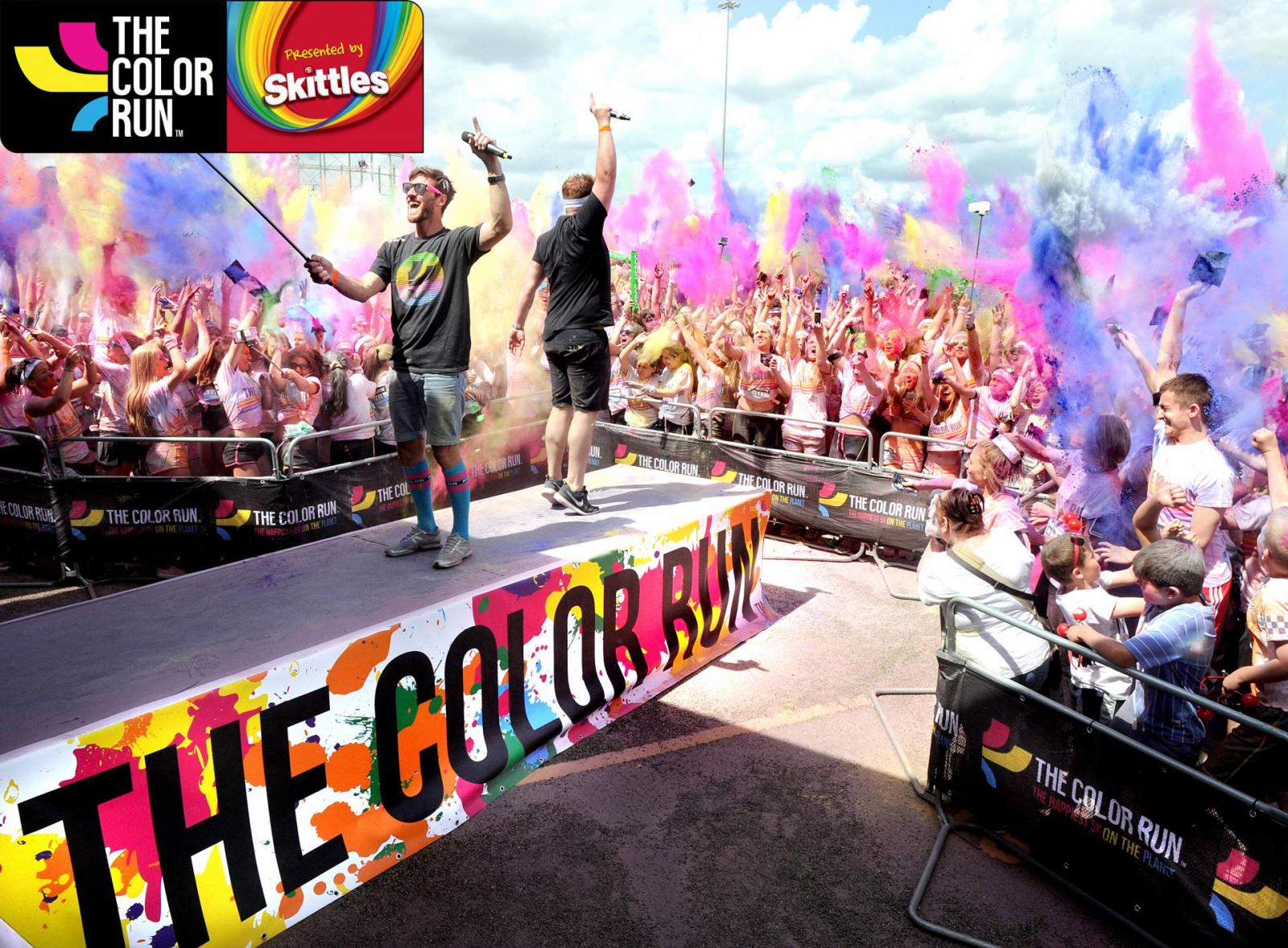 Win two pairs of tickets to the Brighton Color Run – Presented by Skittles!