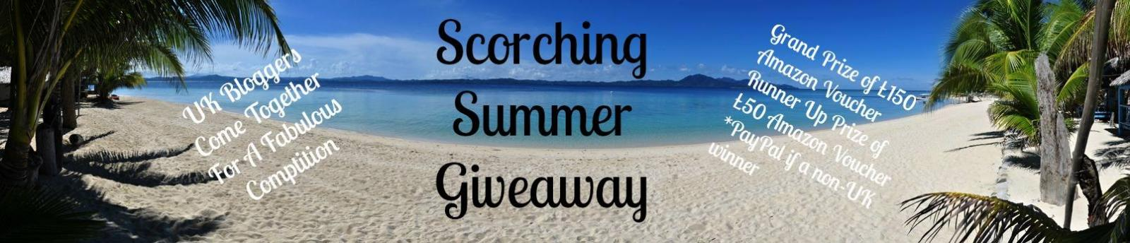 Scorching Summer Giveaway Banner