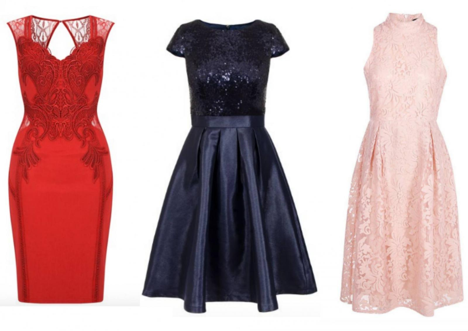 Pictures of christmas party dresses