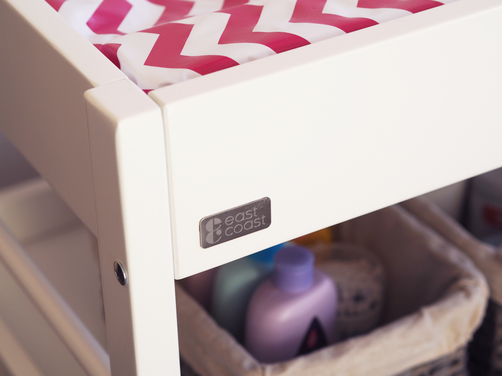 Whats on my changing table?