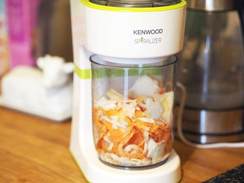 The Kenwood Electric Spiralizer – Spiralizing made simple