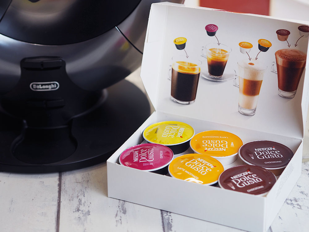 review nescaf dolce gusto eclipse coffee machine by de. Black Bedroom Furniture Sets. Home Design Ideas