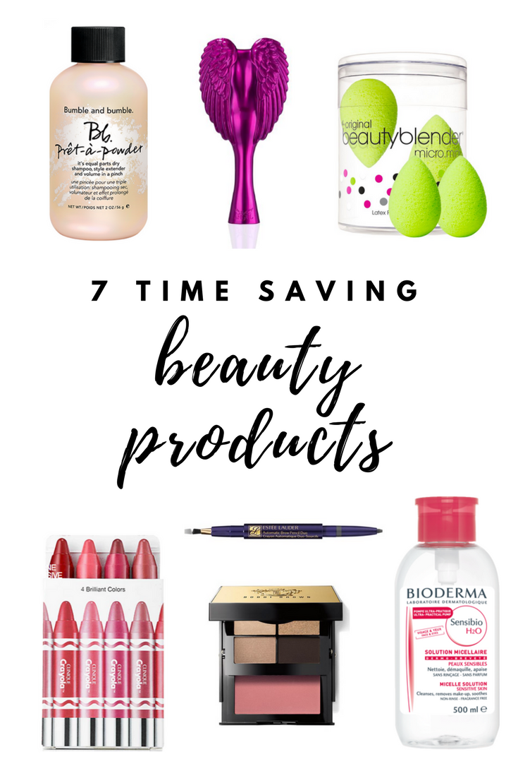 7 Time-Saving Beauty Products