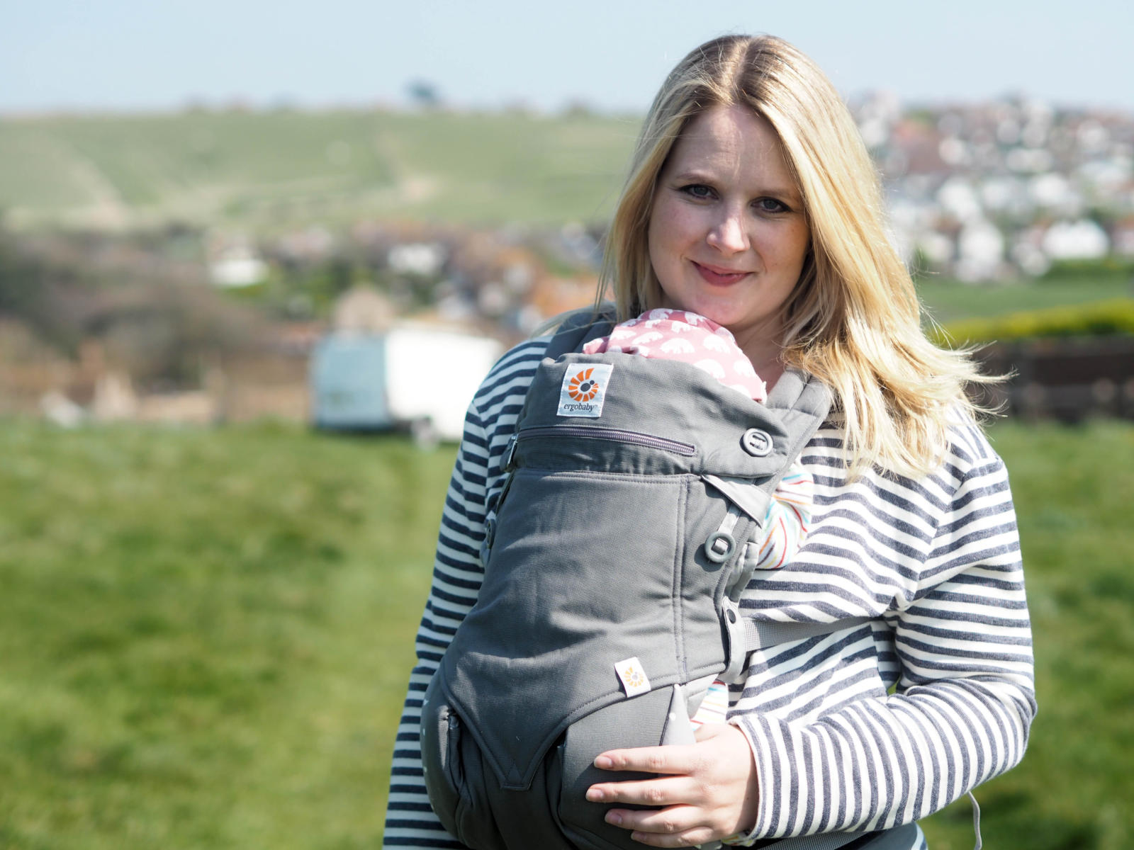 Getting out and about with a new baby: My Ergobaby 360 review