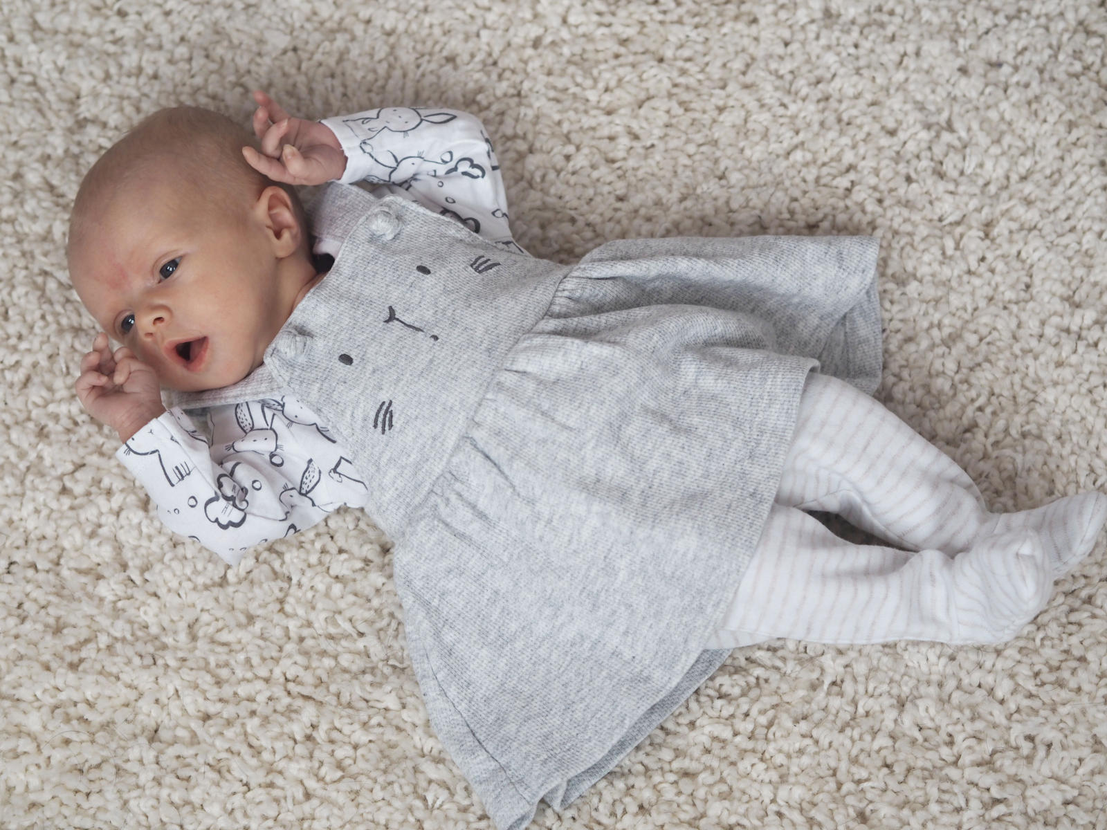 Violet's One Month Update