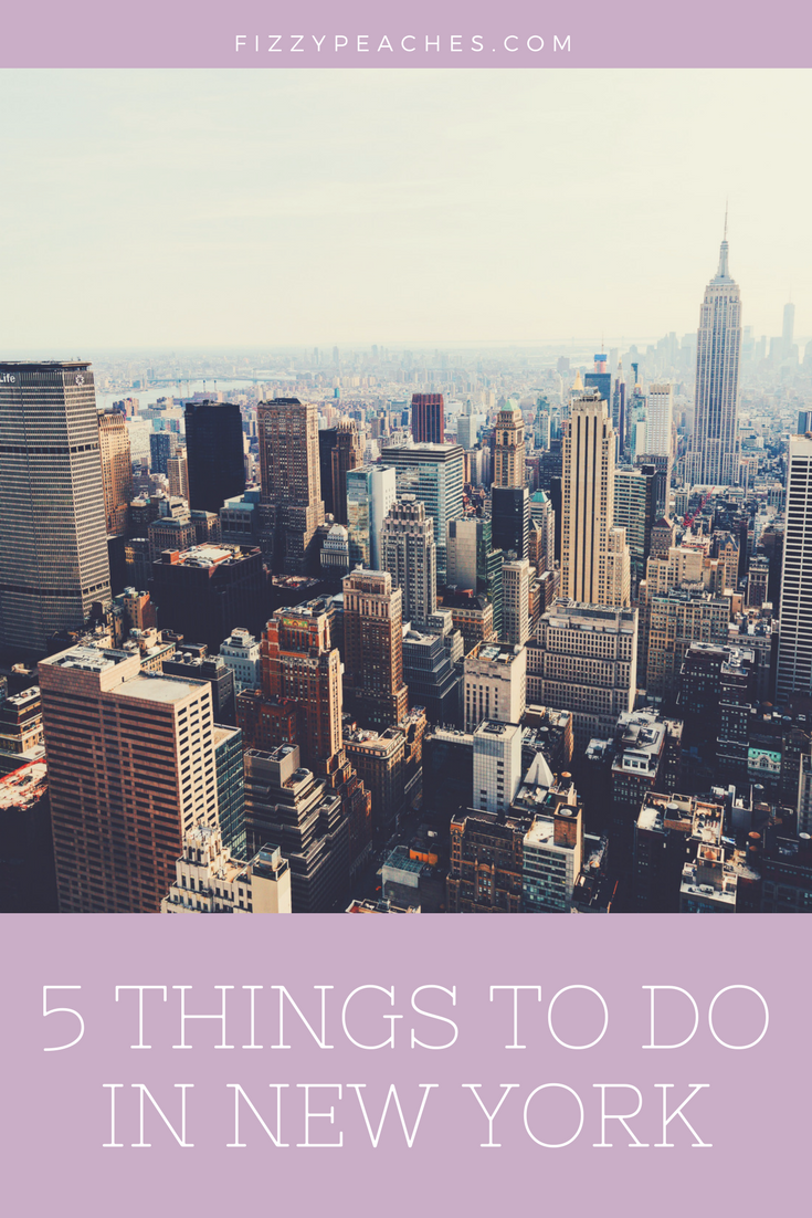 5 Things to do in New York