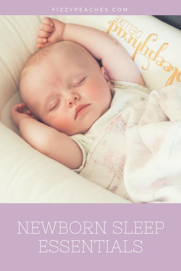 Newborn Sleep Essentials (plus a giveaway!)