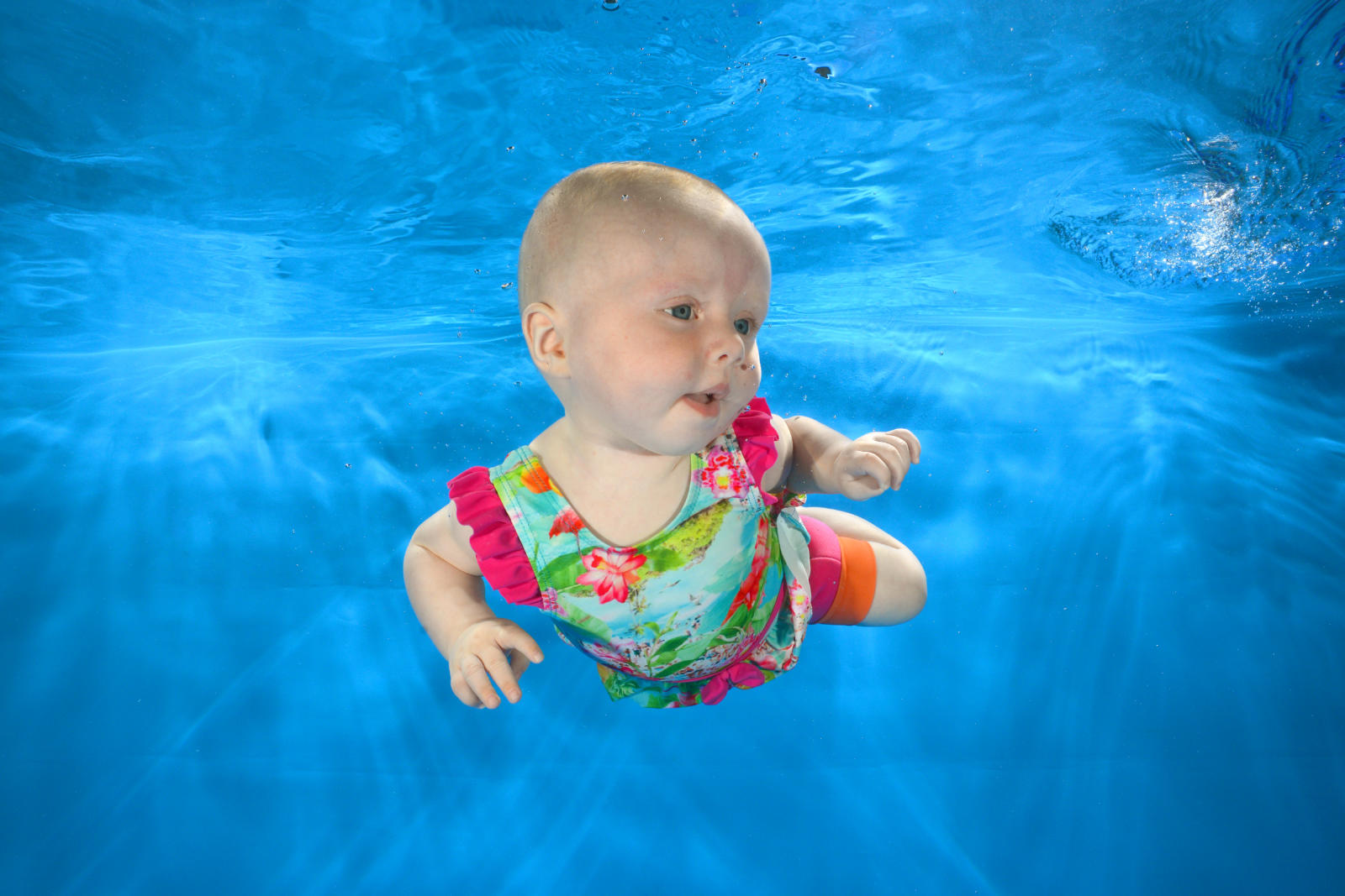 Water Babies Underwater Photoshoot