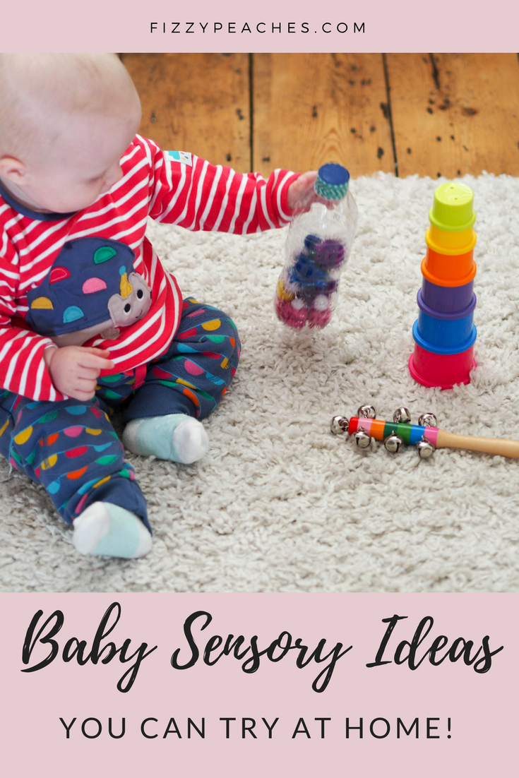 Baby Sensory Ideas You Can Try At Home Fizzy Peaches