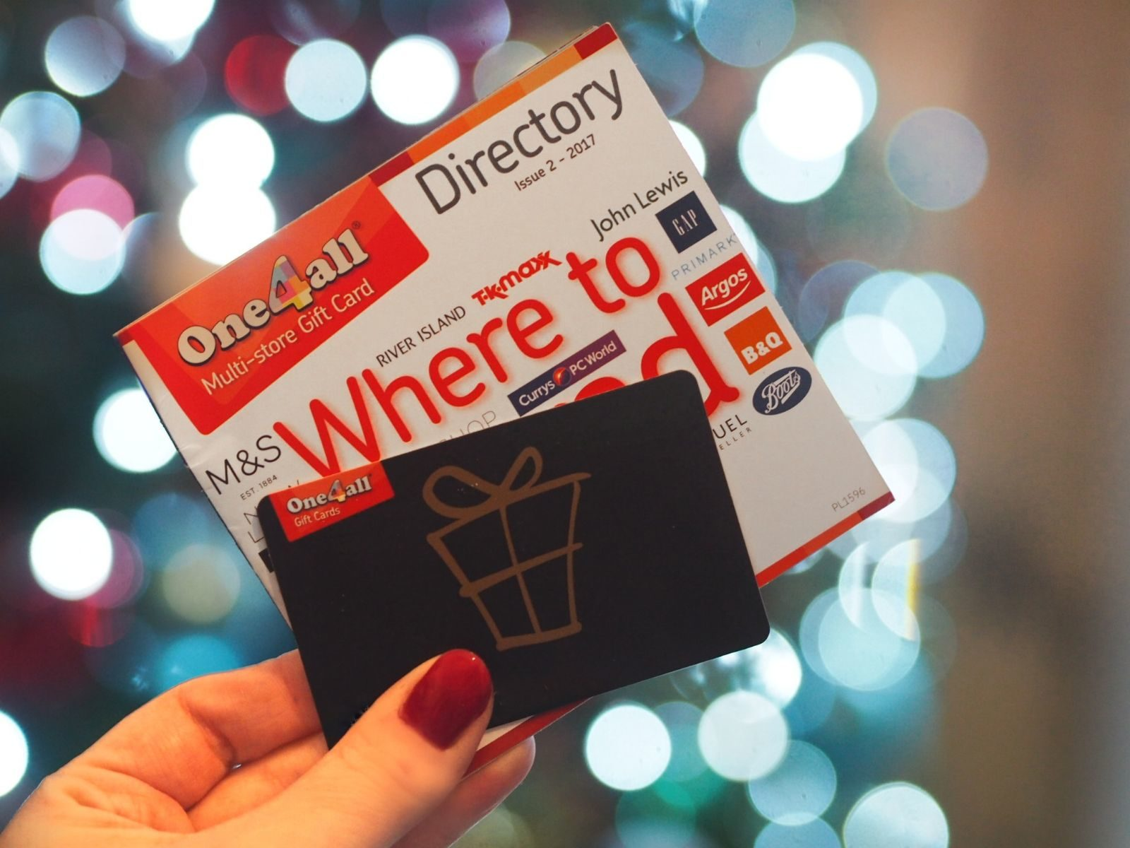 Preparing for Christmas with my One4All Gift Card