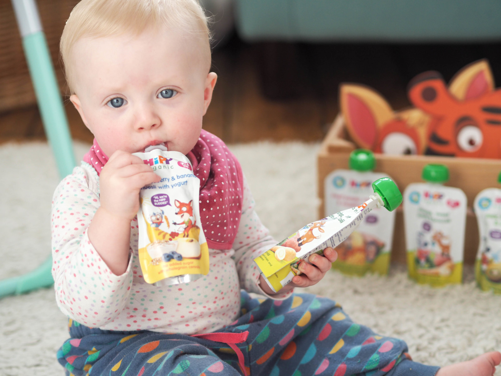 Weaning: Introducing the new HiPP Organic Buddies & Pouches!