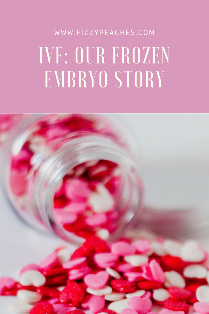 IVF: Our Frozen Embryo Story