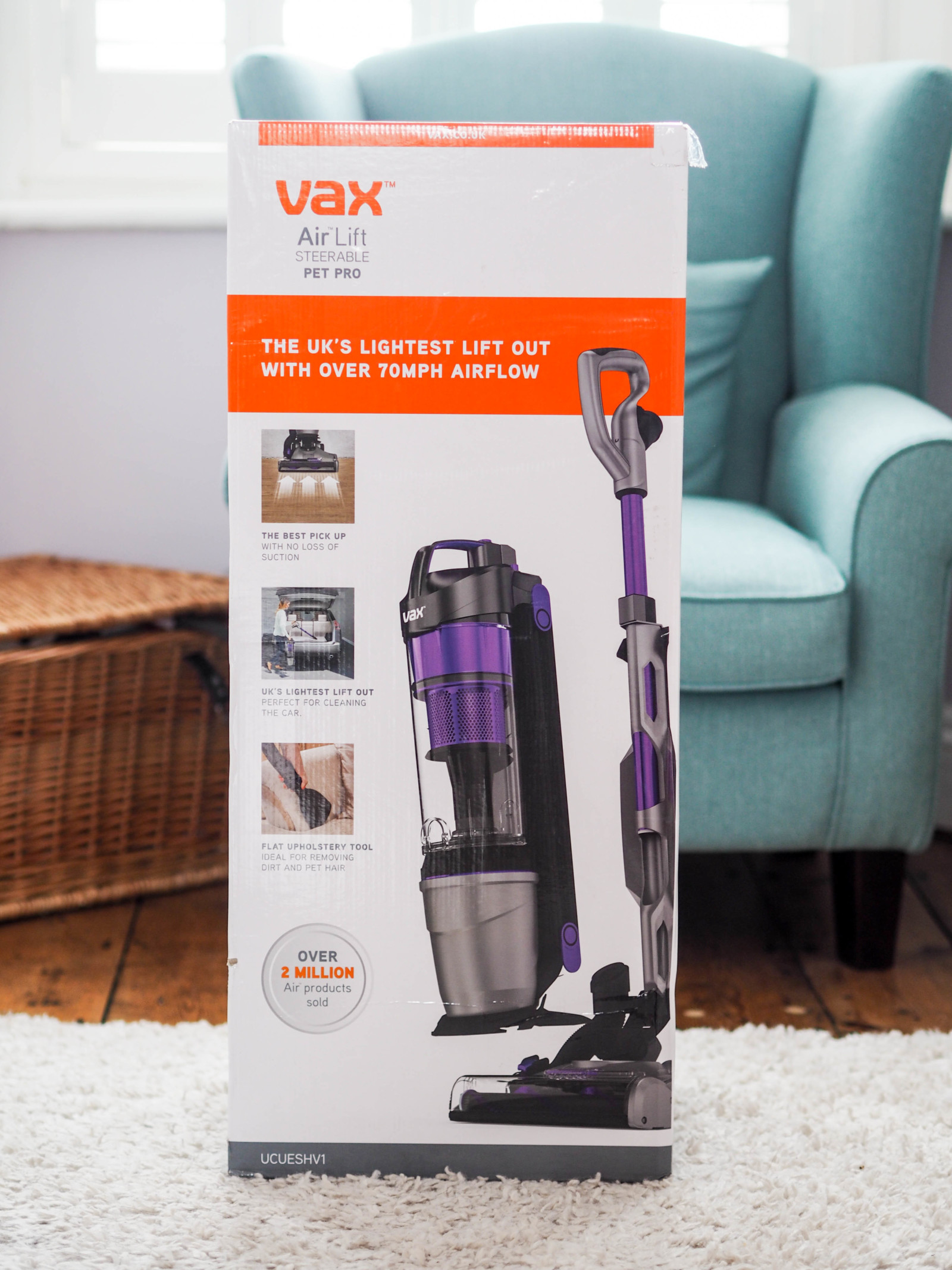 Review: Vax Air Lift Steerable Pet Pro Vacuum Cleaner