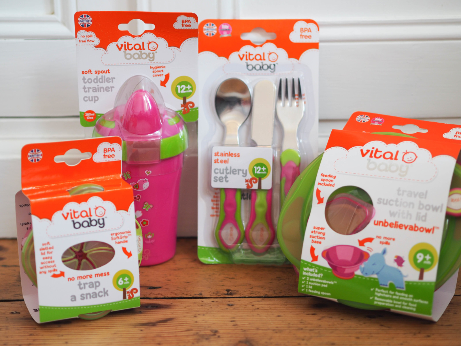 Review: Vital Baby Weaning Range