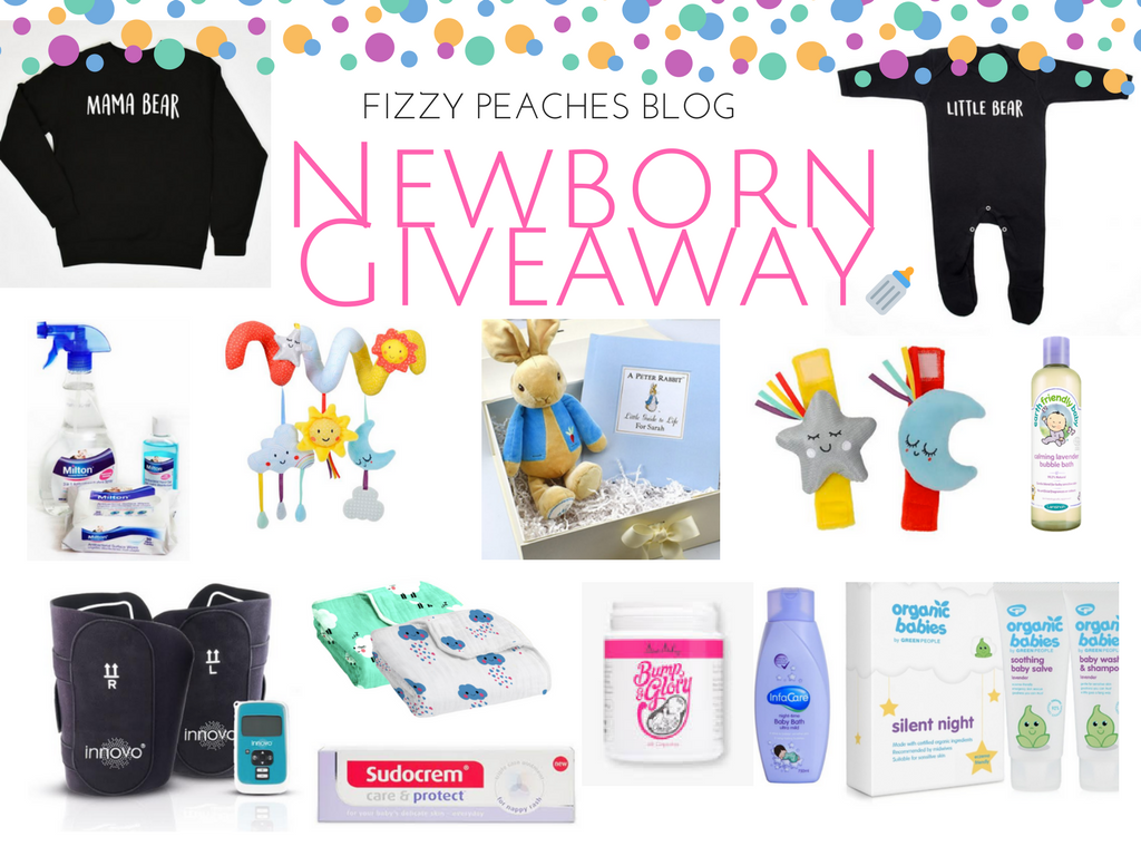 GIVEAWAY: Win a New Mum & Newborn Prize Bundle worth over £500!