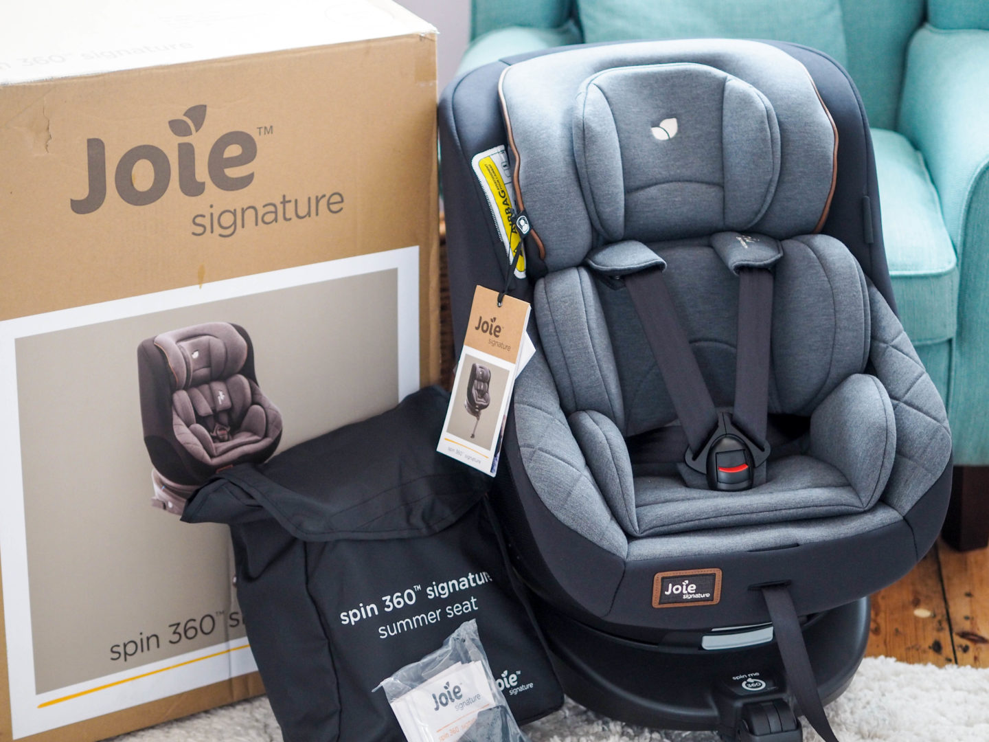 Review: Joie Signature Spin 360 Car Seat