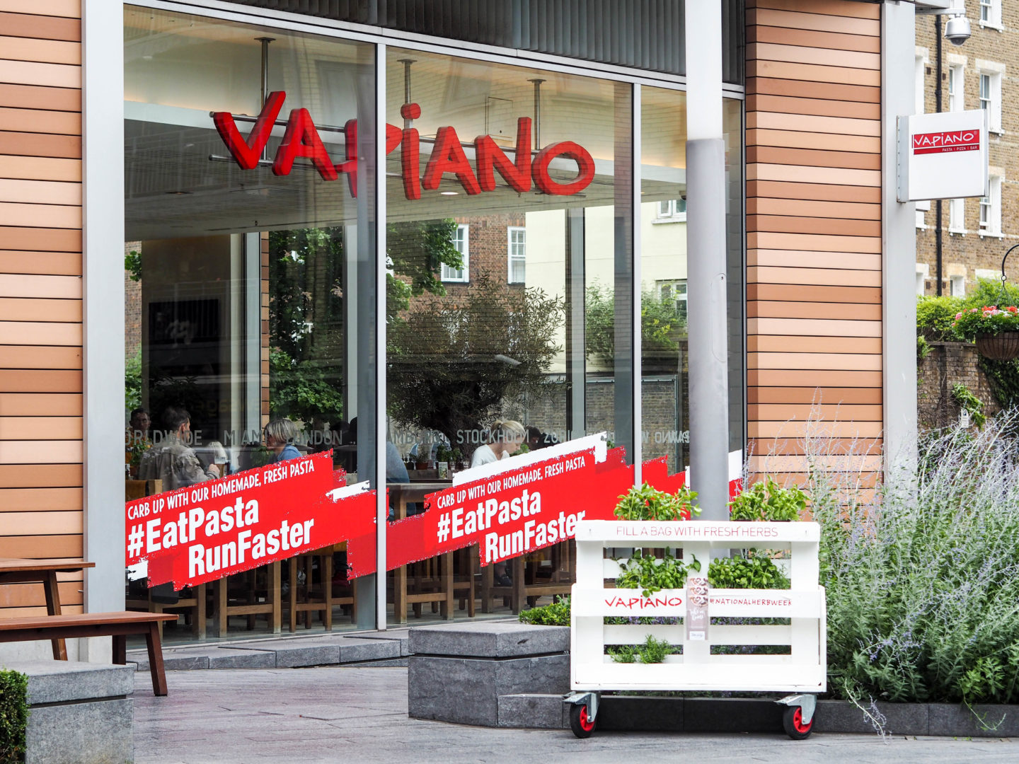 Review: Dinner at Vapiano London