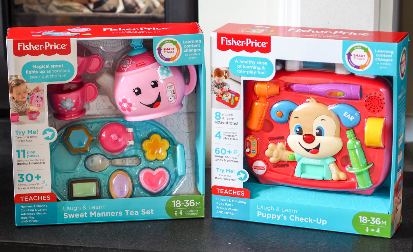 Review: Fisher Price Laugh & Learn Range